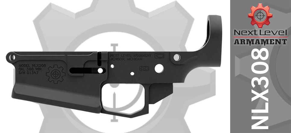 Next Level Armament Stripped Billet AR10 Lower Receiver