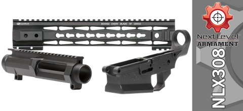 "Next Level Armament NLX308 Builder Set w/ Gen 2 12.5"" Tac-Hunter Keymod Handguard - Black"