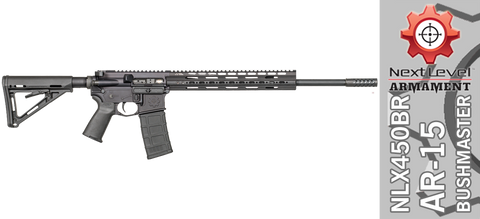 "Next Level Armament ""Thumper"" 450 Bushmaster AR-15 NLX450"