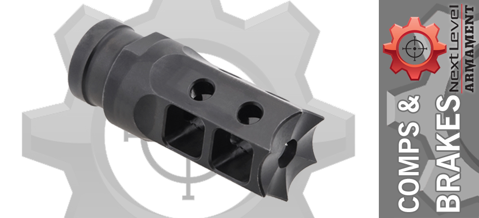 Next Level Armament NLX-7 Hybrid AR15 Comp Brake