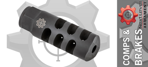 Next Level Armament NLX-9 556 Speed Brake - 1/2 x 28
