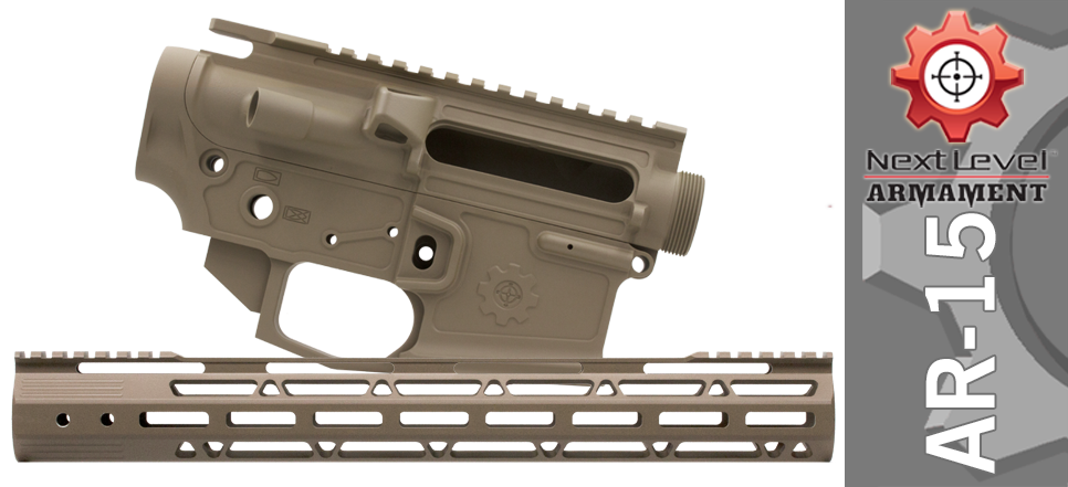 Next Level Armament Billet Fifteen FDE Builder Set