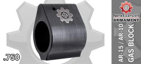 Next Level Armament NLX308 Low-Profile Gas Block - .750