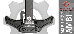 Upgrade charging handle M&P 15-22
