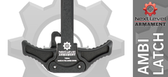 Scythe Ambidextrous AR10 Charging Handle