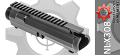 NLX308 Stripped AR10 Upper Next Level Armament DPMS