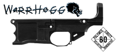 Polymer80 Warrhogg 80% AR .308 Lower Receiver Blank With Completion Jig