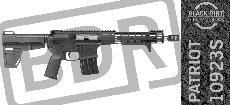 Black Dirt Rifleworks Patriot 10923S Tactical & Sporting AR15 Pistol