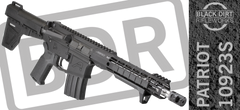Black Dirt Rifleworks Patriot 10923S Tactical & Sporting AR15 Pistol .223 Wylde
