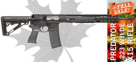 Aero Precision / Black Dirt Rifleworks PREDATOR18 AR15 Rifle - .223 Wylde