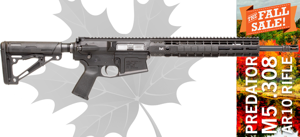 Black Dirt Rifleworks Aero Precision Predator308 AR10 Rifle