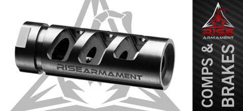 Rise Armament RA-701 Precision Comp - 1/2 x 28