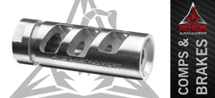 Rise Armament Stainless RA-701 Muzzle Brake