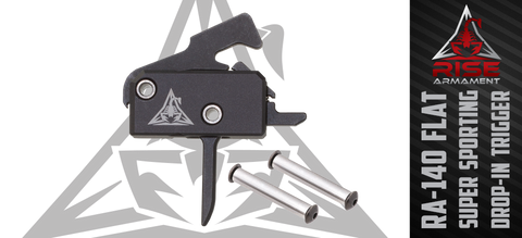 FLASH SALE!!! Rise Armament RA-140 Super Sporting Drop-In AR Target Trigger (SST) - FLAT