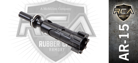 Rubber City Armory AR-15 Bolt for 6.5 Grendel - Blacknitride+ Enhanced