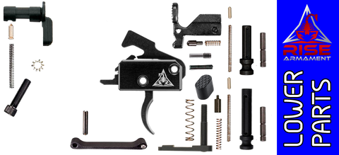 Enhanced Parts Kit for DPMS Profile AR .308 Lower Receivers with Rise Armament RA-140 Trigger - No Grip