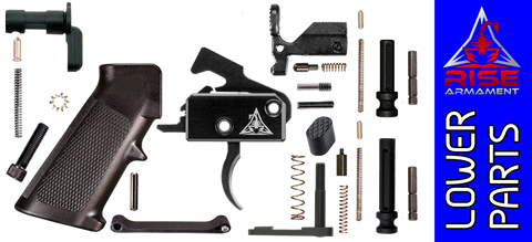 Enhanced Parts Kit for DPMS Profile .308 Lower Receivers with Rise Armament RA-140 Trigger