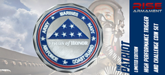Rise Armament Folds of Honor Challenge Coin