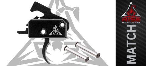 Rise Armament RA-140 Super Sporting Drop-In AR Target Trigger (SST) w/ Stainless Anti-Walk Pins