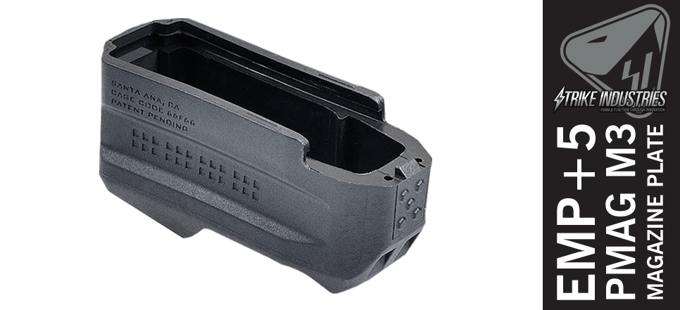 Strike Industries EMP+5 PMAG Magazine Plate