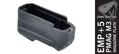 Strike Industries Enhanced Magazine Plate - E.M.P+5 - Black