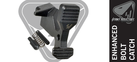 Strike Industries Enhanced AR-15 Bolt Catch Assembly