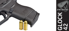 Strike Enhanced Magazine Plate for Glock 42 - Black