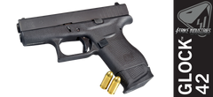 Enhanced Magazine Plate for Glock 42 - Black