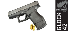 Strike Industries Extended Magazine Plate for Glock 42 - Black