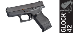 Strike Industries Magazine Plate for Glock 42 - Black