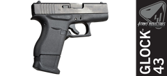 SI Magazine Plate for Glock 43 - Black