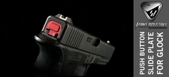 Red Glock Slide Plate 1
