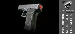 Red Glock Slide Plate 2
