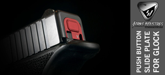Strike Industries Red Glock Slide Plate V1 4