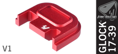 Glock Slide Plate - Red