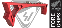Strike Industries LINK Curved AR Fore grip - Red