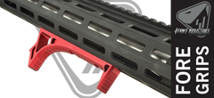Strike Industries LINK Curved Fore grip - Red