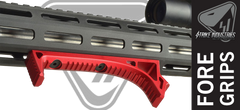 SI LINK Curved Foregrip - Red