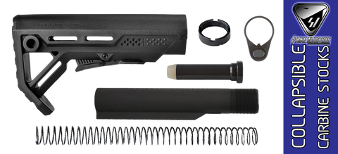 Strike Industries Viper AR-15 Stock Kit - Black / Black