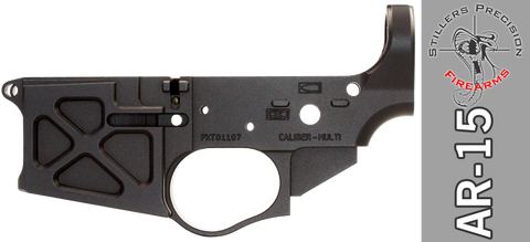 Stiller's Precision Predator XT Stripped Billet AR-15 Lower Receiver