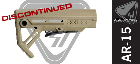 Strike Industries Viper AR Stock - FDE - DISCONTINUED