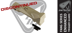 Strike Industries Fang Enhanced AR15 Trigger Guard FDE