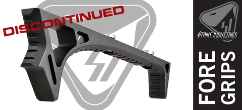 Strike Industries LINK Curved AR Foregrip - BLK - DISCONTINUED