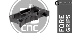 Tyrant CNC Designs Halo Foregrip - Black