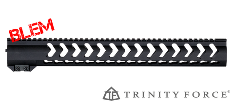 "16.5"" Vapor X KEYMOD Free-Float Handguard for DPMS Profile (High) AR .308 - BLEMISHED"