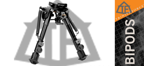 "Trinity Force Compact Adjustable Height Bipod - 6.2"" - 8.7"""