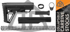 Trinity Force Alpha AR15 Carbine Stock Kit Black