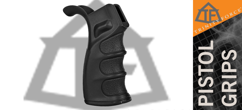 Trinity Force DMR Ergonomic Pistol Grip w/ Storage - Black