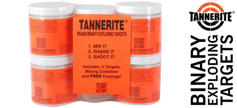Tannerite® Exploding Binary Target - 1/2 lb. Brick 4-Pack