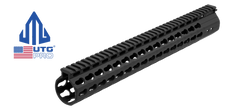 UTG PRO AR 15 Slim Free Float Keymod Rail